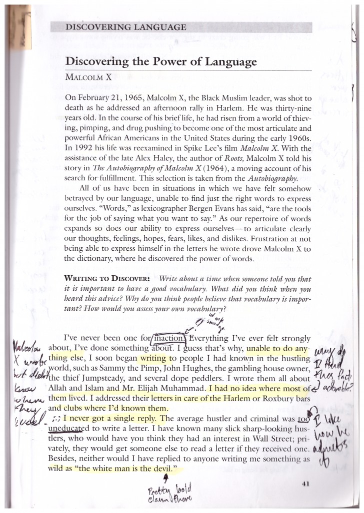 002 Malcolm X Essay Example Page Stunning Learning To Read Questions Summary 728
