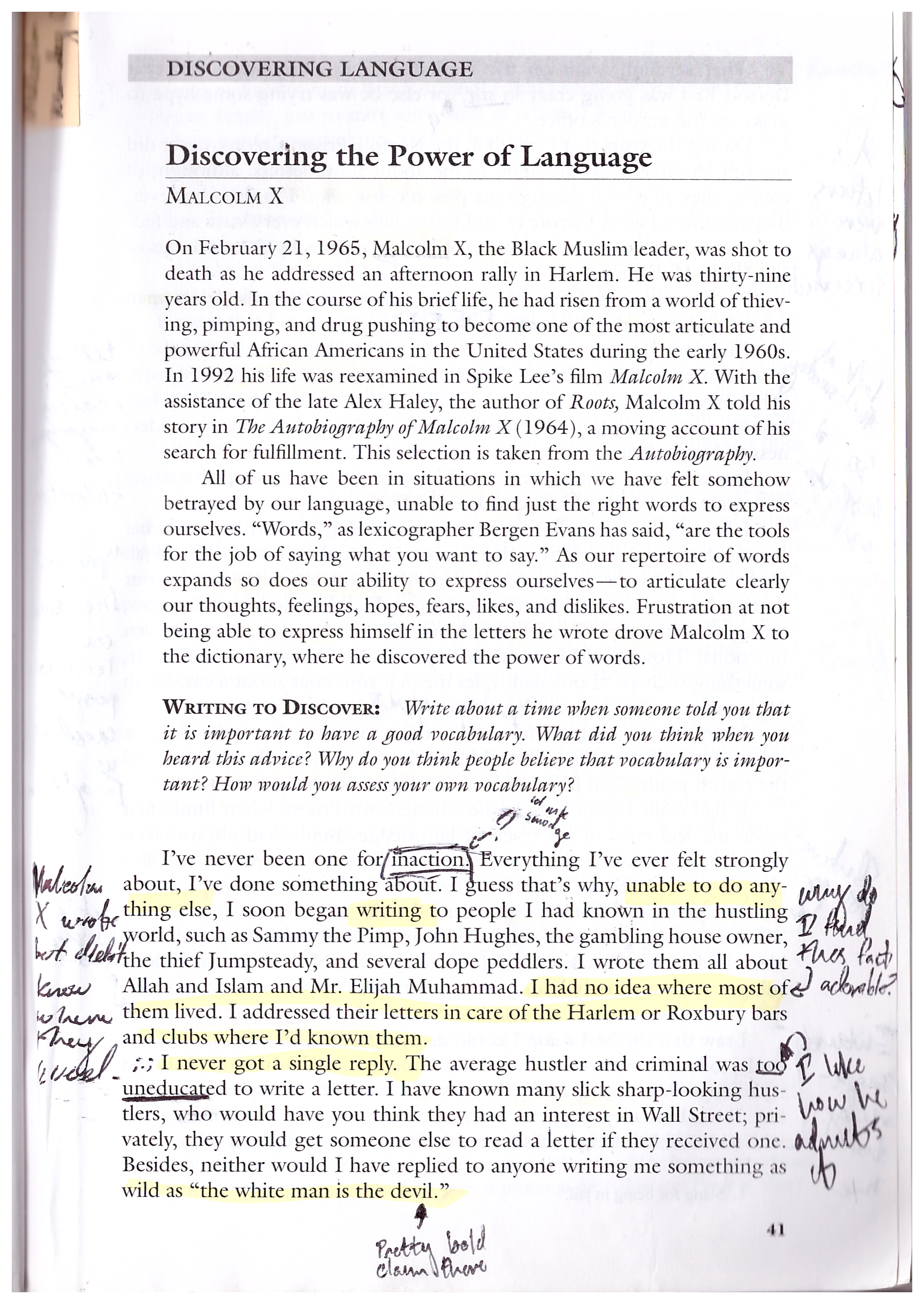 002 Malcolm X Essay Example Page Stunning Learning To Read Questions Summary Full