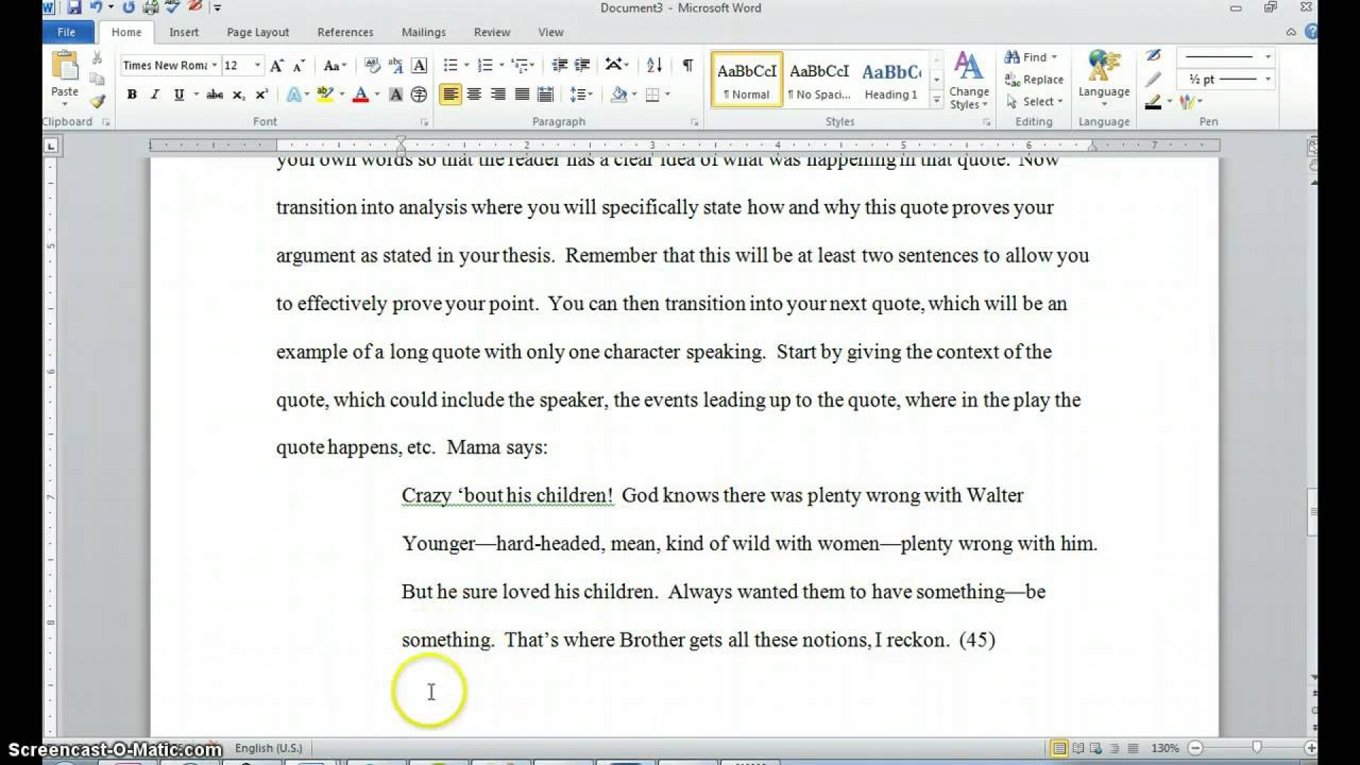 002 Maxresdefault Essay Example How To Quote Play In Top A An Dialogue From Do You Lines Mla 1920