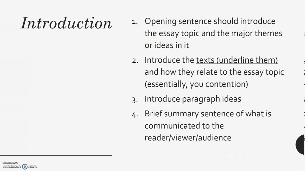 002 Maxresdefault Essay Example How To Start Beautiful A Comparative Writing Comparison And Contrast Begin Compare Thesis Large