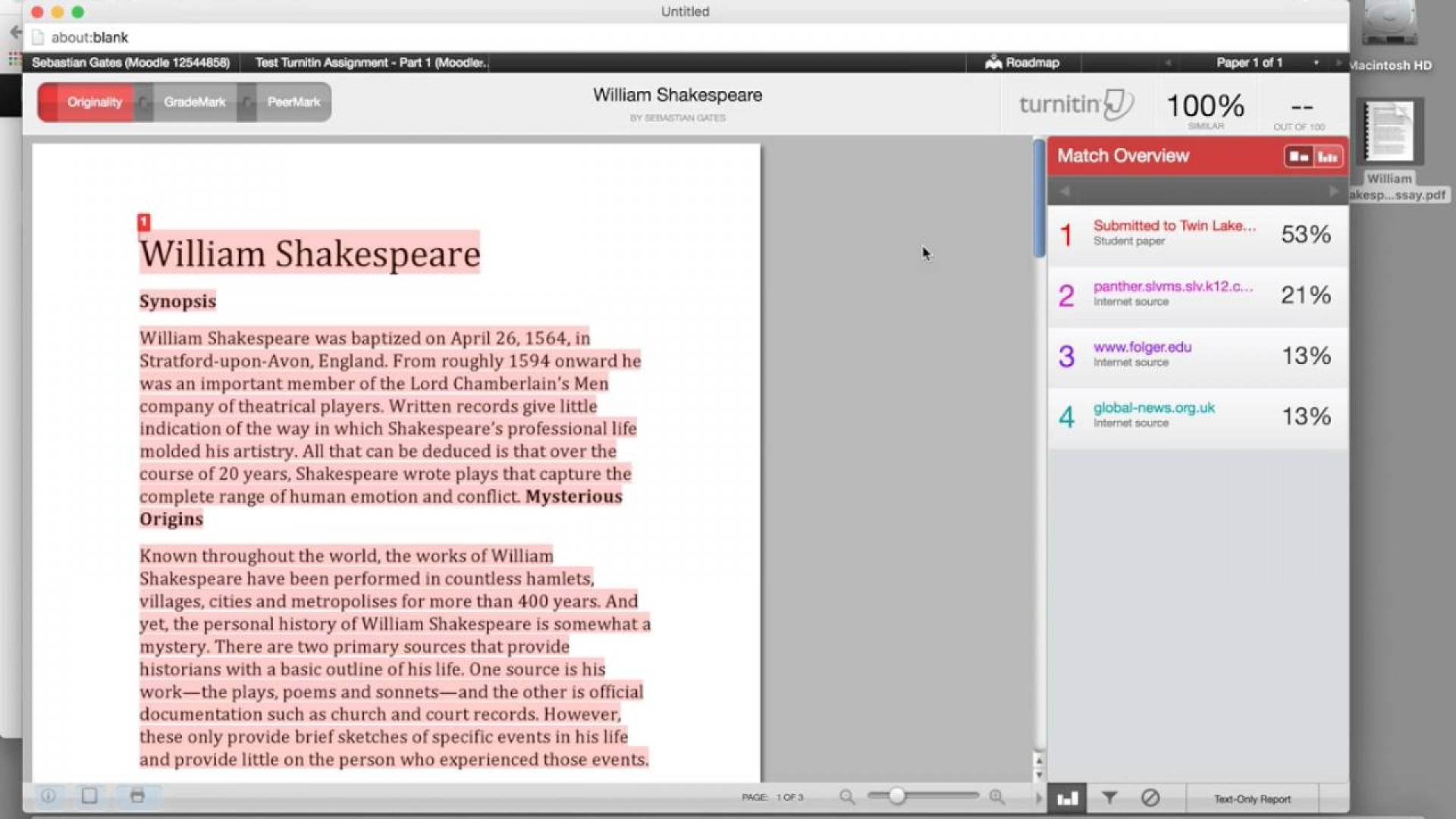 002 Maxresdefault Essay Example Similarity Incredible Checker Percentage Turnitin Check Time Plagiarism 1920