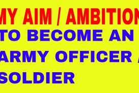 Army officer essay