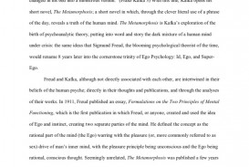 002 Metamorphosis Essay Ego Psychology And Kafka39s 5848f940b6d87ff6628b47b5 Fantastic Prompts Writing 320