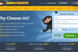 002 Ninja Essays Essay Fascinating Is Legit Screwball Review
