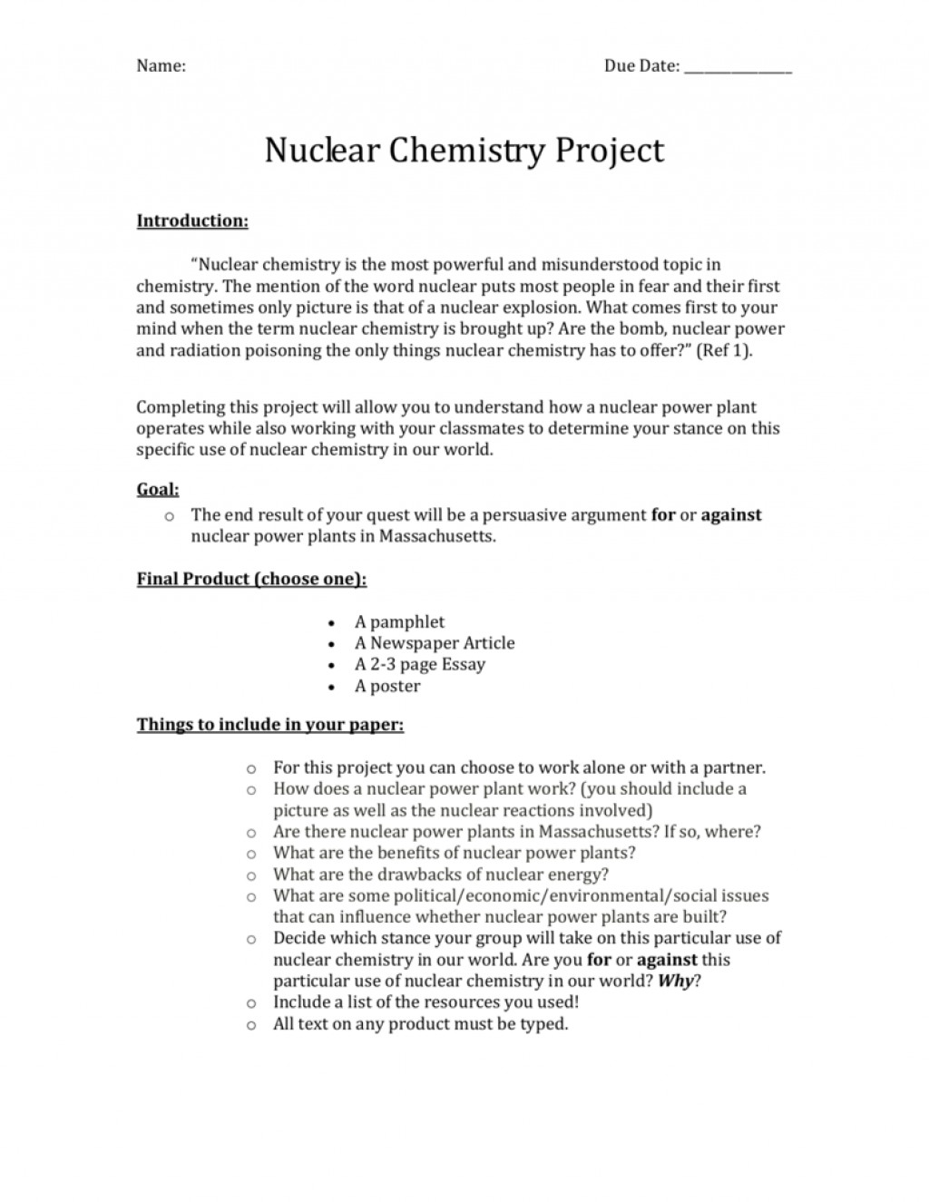 002 Nuclear Chemistry Essay 007069203 1 Awesome Advantages And Disadvantages Large