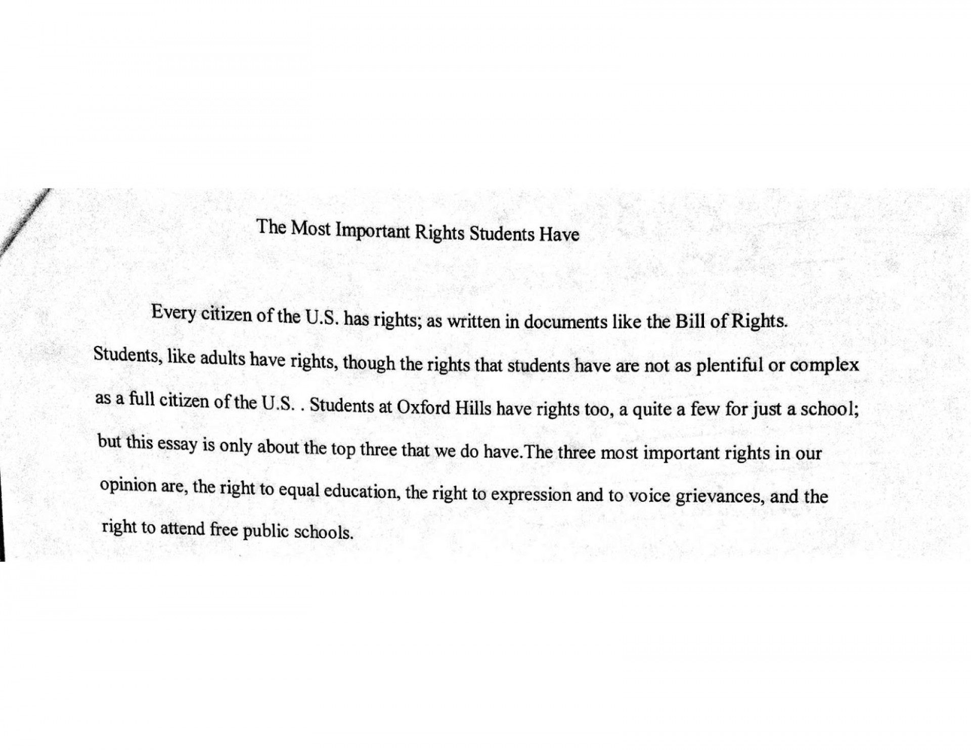 preschool observation essay example
