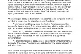 002 P1 Essay Example Harlem Striking Renaissance Questions Pdf Introduction