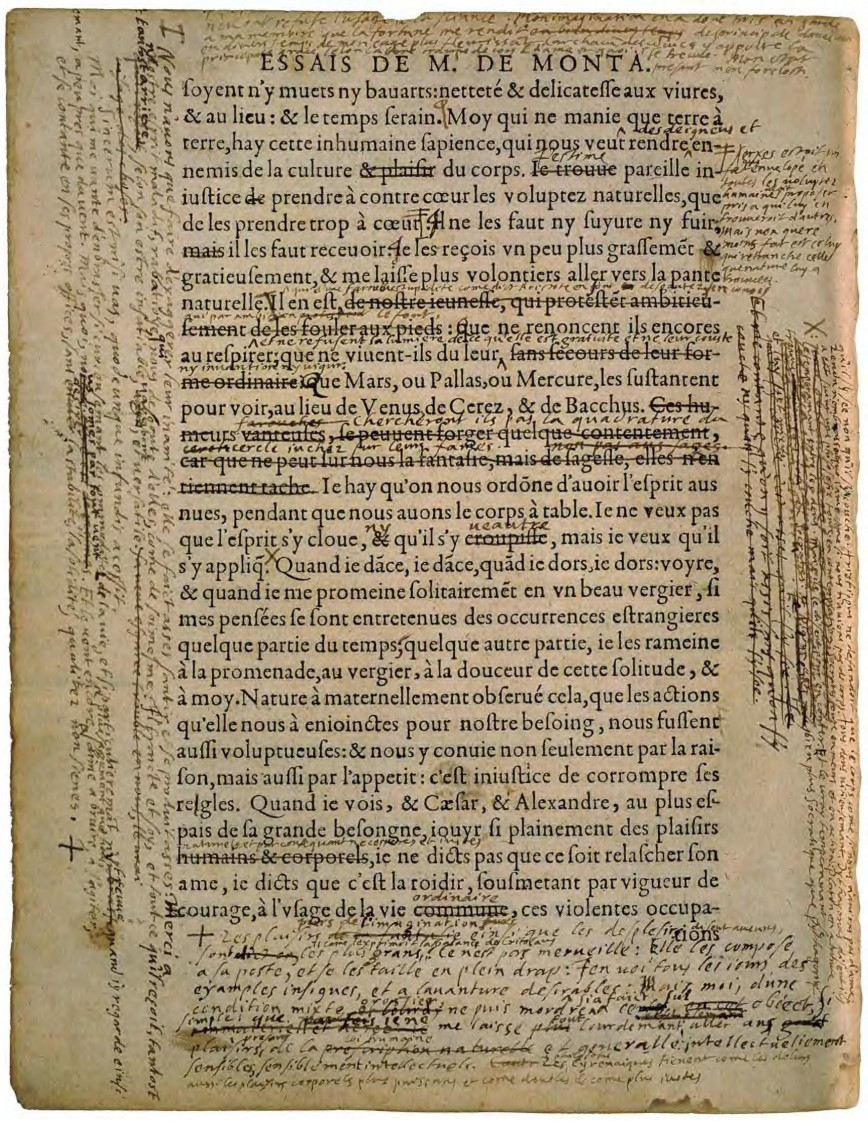 002 Page298 1741px Montaigne  Essais C389d De Bordeaux 3 Djvu Essay Example Essays Unbelievable Sparknotes Of Cannibals