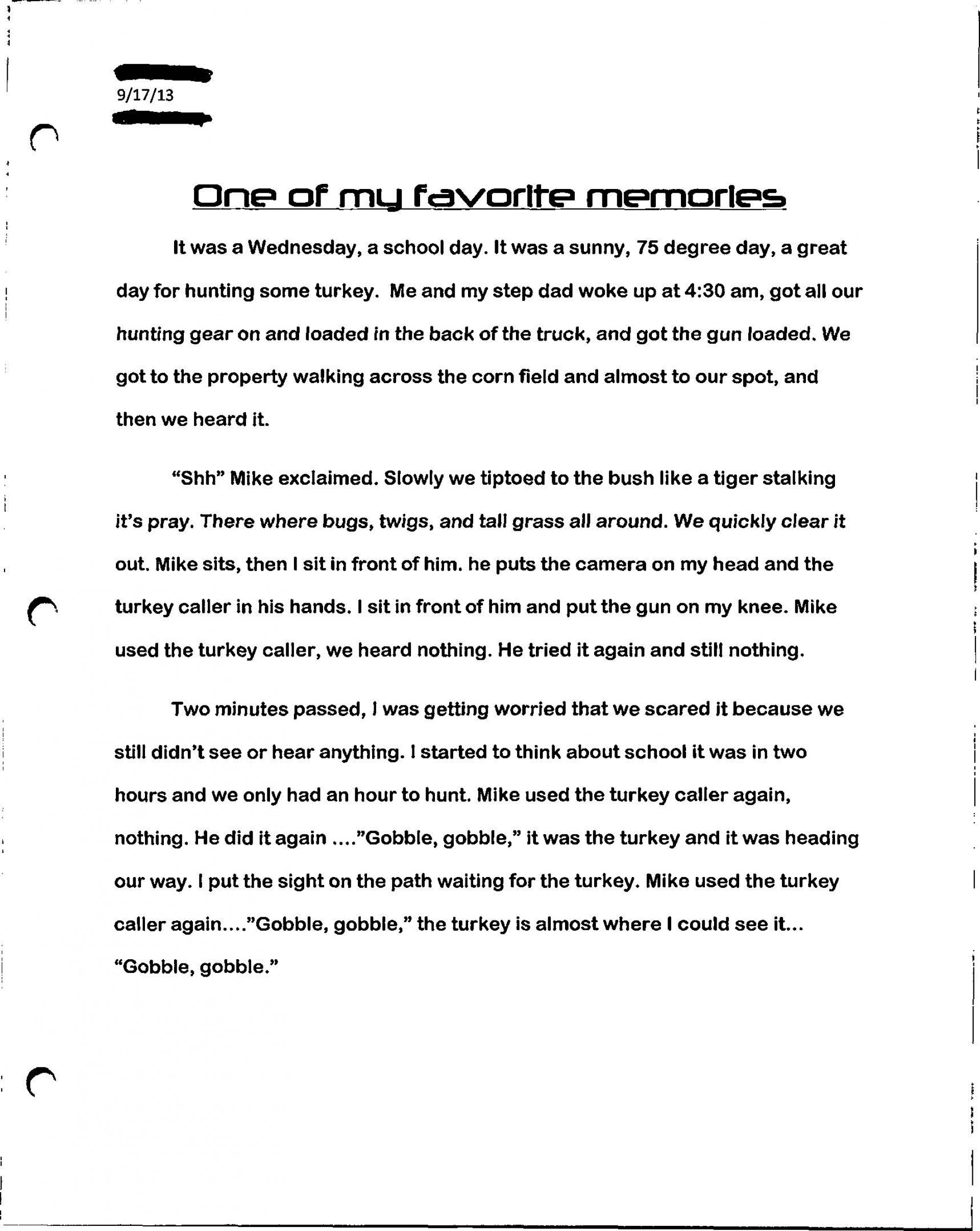 002 Paperexample2 Page 1 Essay Example Who Am I Amazing Examples For Students College How To Write A Good 'who I' 1920