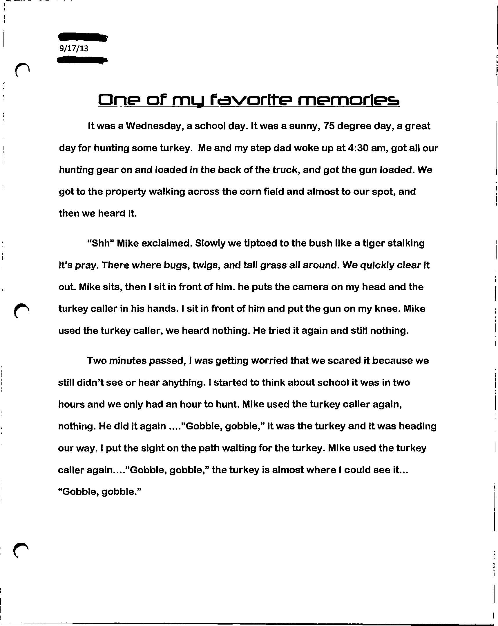 002 Paperexample2 Page 1 Essay Example Who Am I Amazing Examples For Students College How To Write A Good 'who I' Full