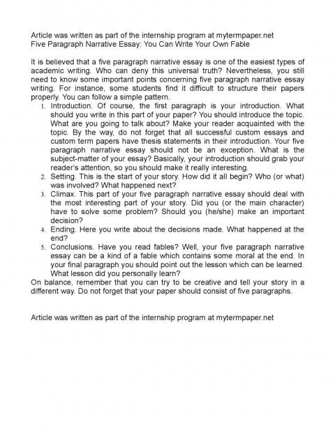 002 Paragraph Essay Example College Do Essays Have To Paragraphs Calam Eacute O Five Paragra Excellent 5 Pdf 480