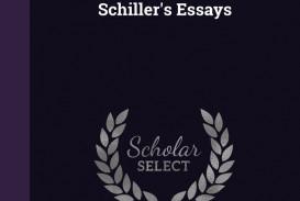 002 Schiller Essays 61lpiqhgzml Essay Awful Friedrich