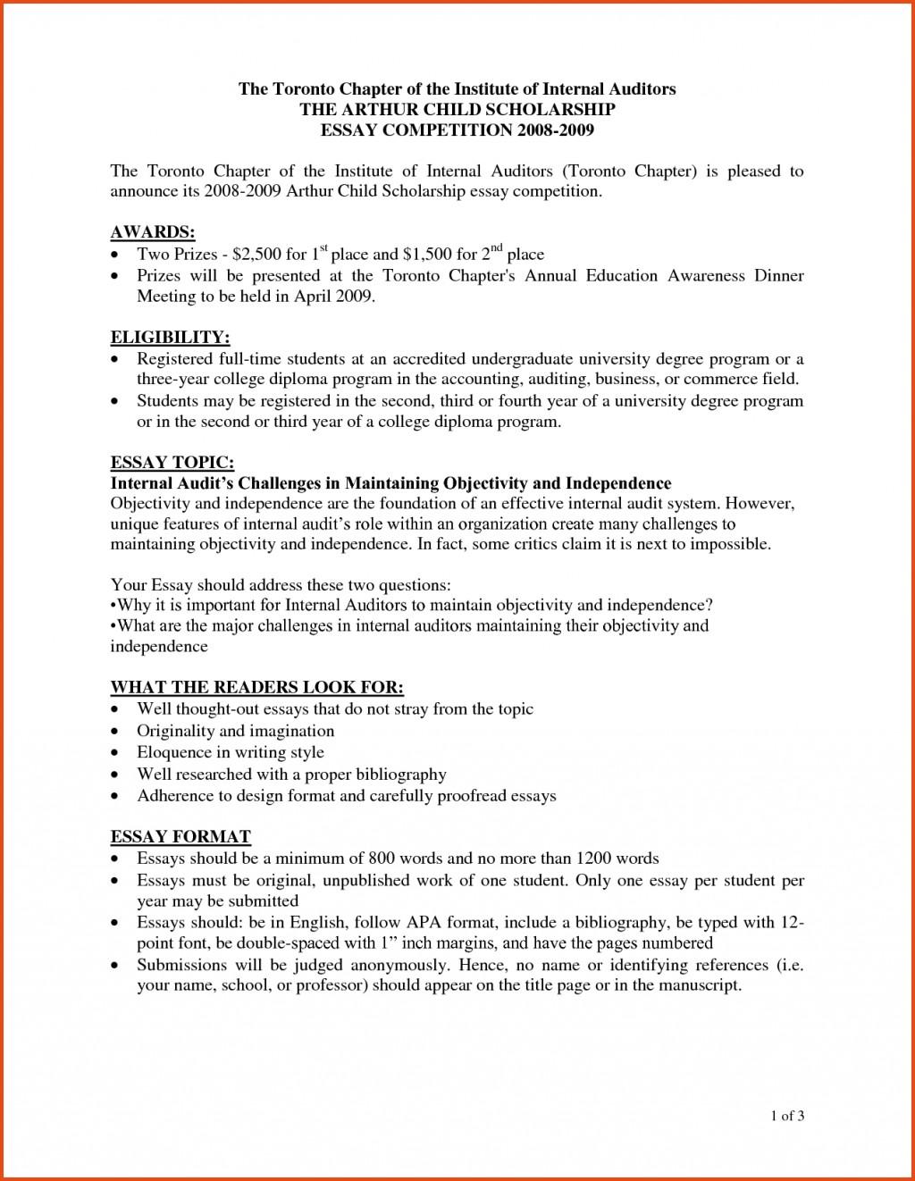 Custom scholarship essay