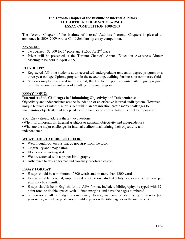 002 Scholarship Essay Format Sponsorship Letter For Heading Sensational Sample College Essays Writing 1920