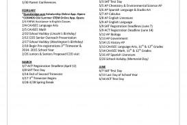 002 Spring Break Essay Junior20calendar2020152012 18 Page 2 Stupendous Plans Alternative Outline