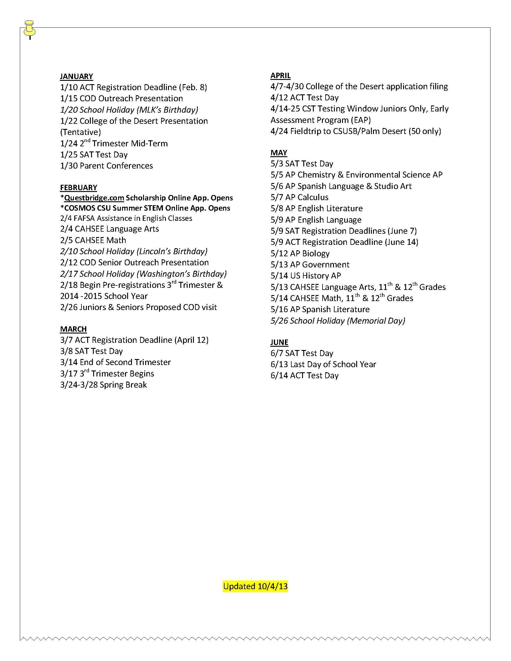 002 Spring Break Essay Junior20calendar2020152012 18 Page 2 Stupendous Plans Alternative Outline Full