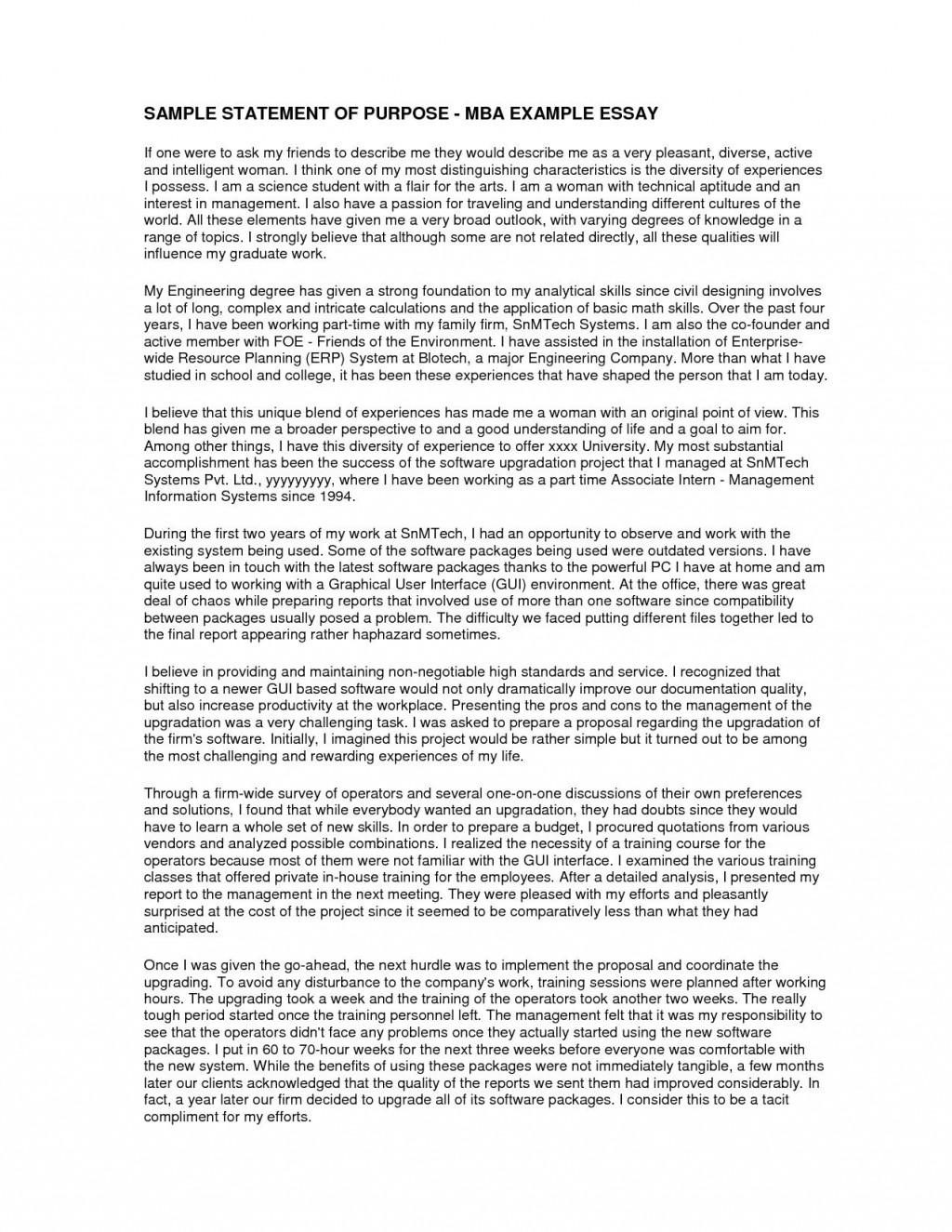 002 Statement Of Purpose Sample Essays Essay Example Fearsome Nursing Graduate School Education Mba Large