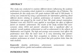 002 Students Academic Achievement Essay Example Unique Factors Affecting Performance Effects Of Social Media On