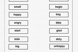 002 Synonym For Essay Synonymworksheet1 Frightening Words Essayistisch Because