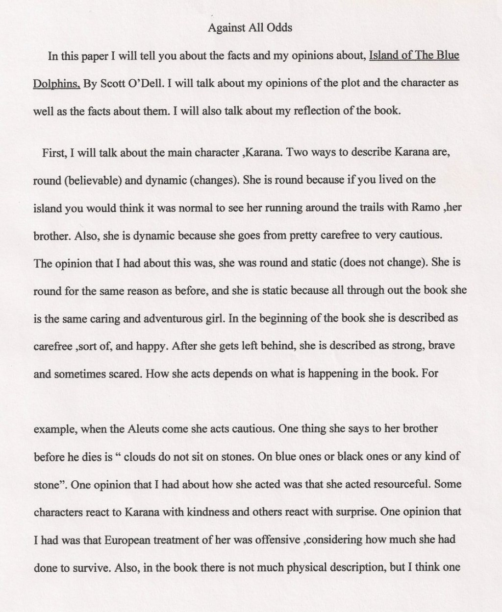 002 Taking Risks Essay Against All Odds Thesis Persuasive College In Life On Expository Benefits Of Example Business Writing About Top Narrative Large