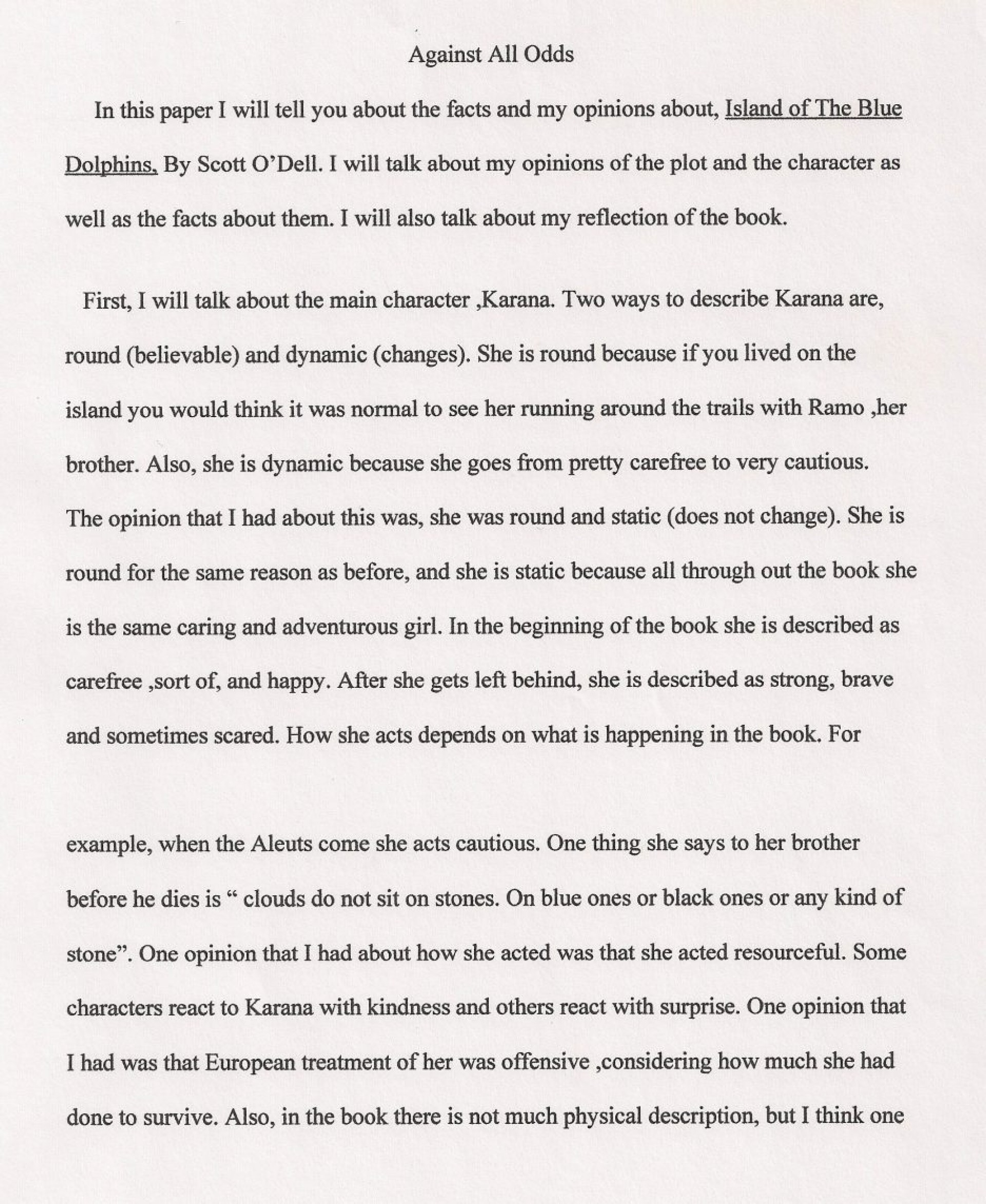 002 Taking Risks Essay Against All Odds Thesis Persuasive College In Life On Expository Benefits Of Example Business Writing About Top Narrative 1920