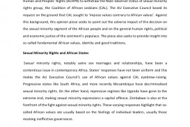 002 Theafricanunionandhomosexuality Anopiniononthecoalitionofafricanlesbiansquestion Thumbnail Essay Example Unbelievable Coalition Upload Help Prompt 1
