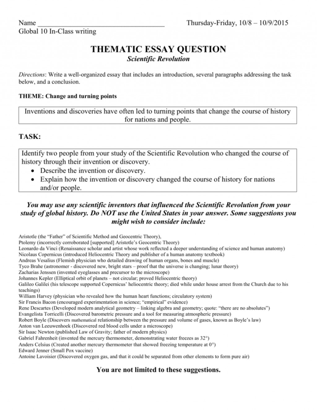 002 Thematic Essay Example 007118361 1 Fearsome Photo Examples Rubric Analysis Template Large