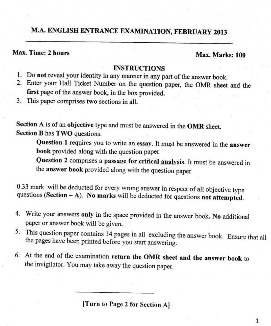 002 What Does Essay Mean In Spanish Help Buy Original How To Pick Good Up Definition Writing Tools Software Previous Year Question Papers Of Ma English Entrance Exam University Hyd Online Marvelous El 868