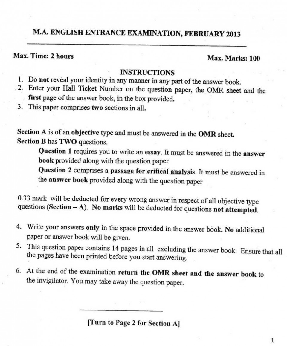 002 What Does Essay Mean In Spanish Help Buy Original How To Pick Good Up Definition Writing Tools Software Previous Year Question Papers Of Ma English Entrance Exam University Hyd Online Marvelous El 960