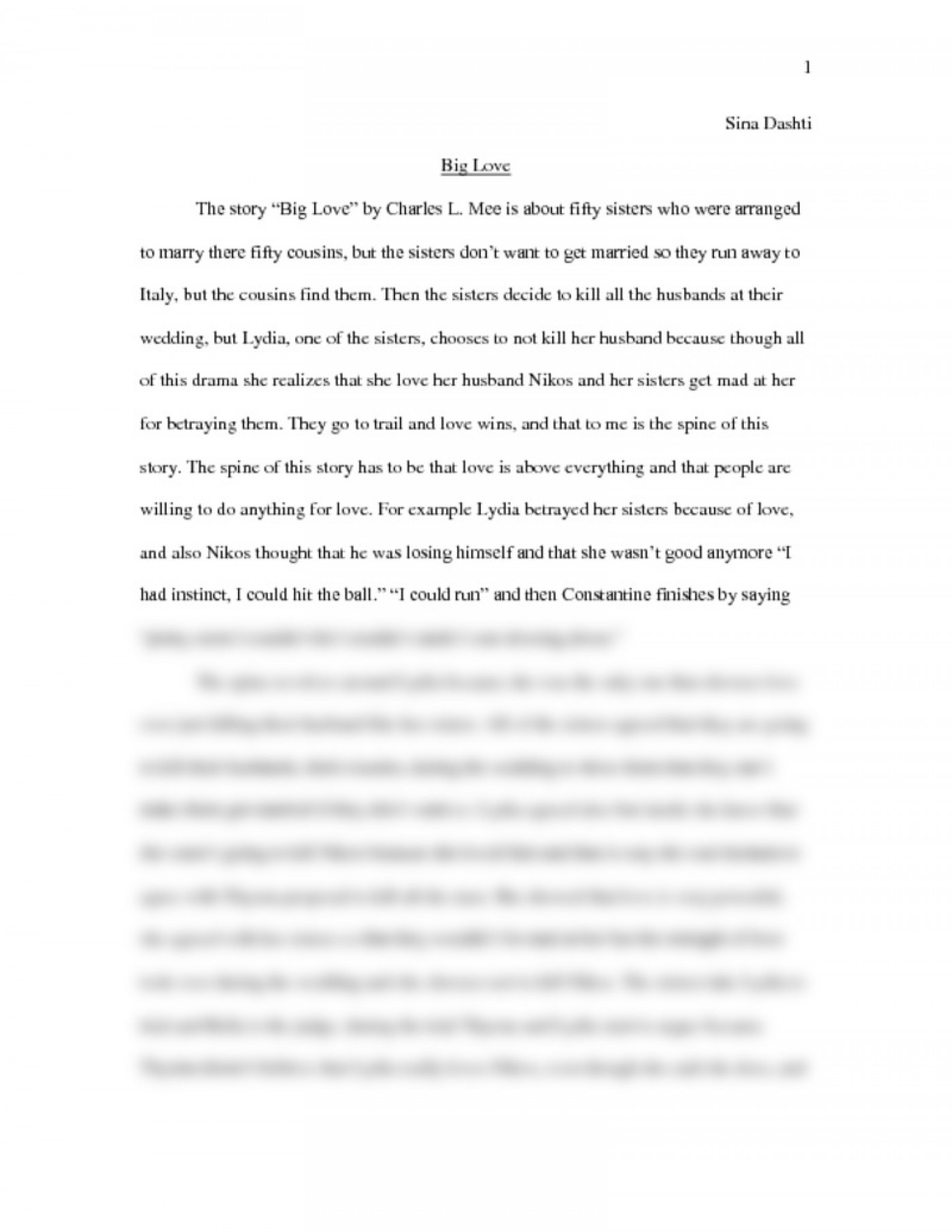 002 What Is Love Essay Preview0 Top Conclusion Tagalog Body 1400