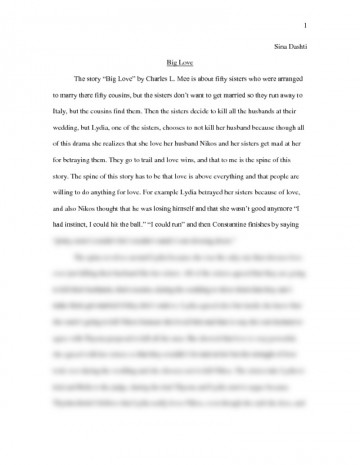 002 What Is Love Essay Preview0 Top Conclusion Tagalog Body 360