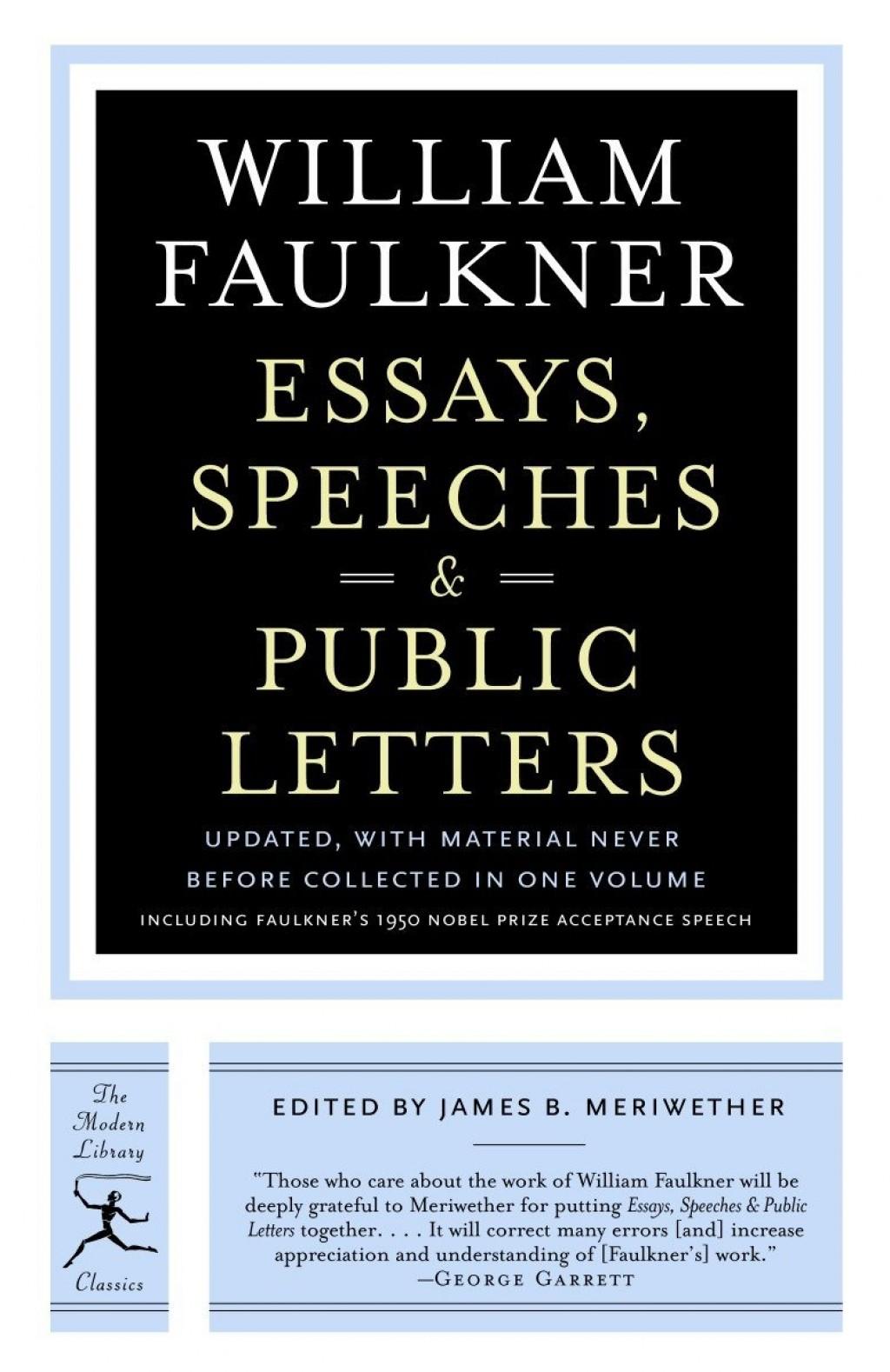 002 William Faulkner Essays Essay Example Stunning Topics Large