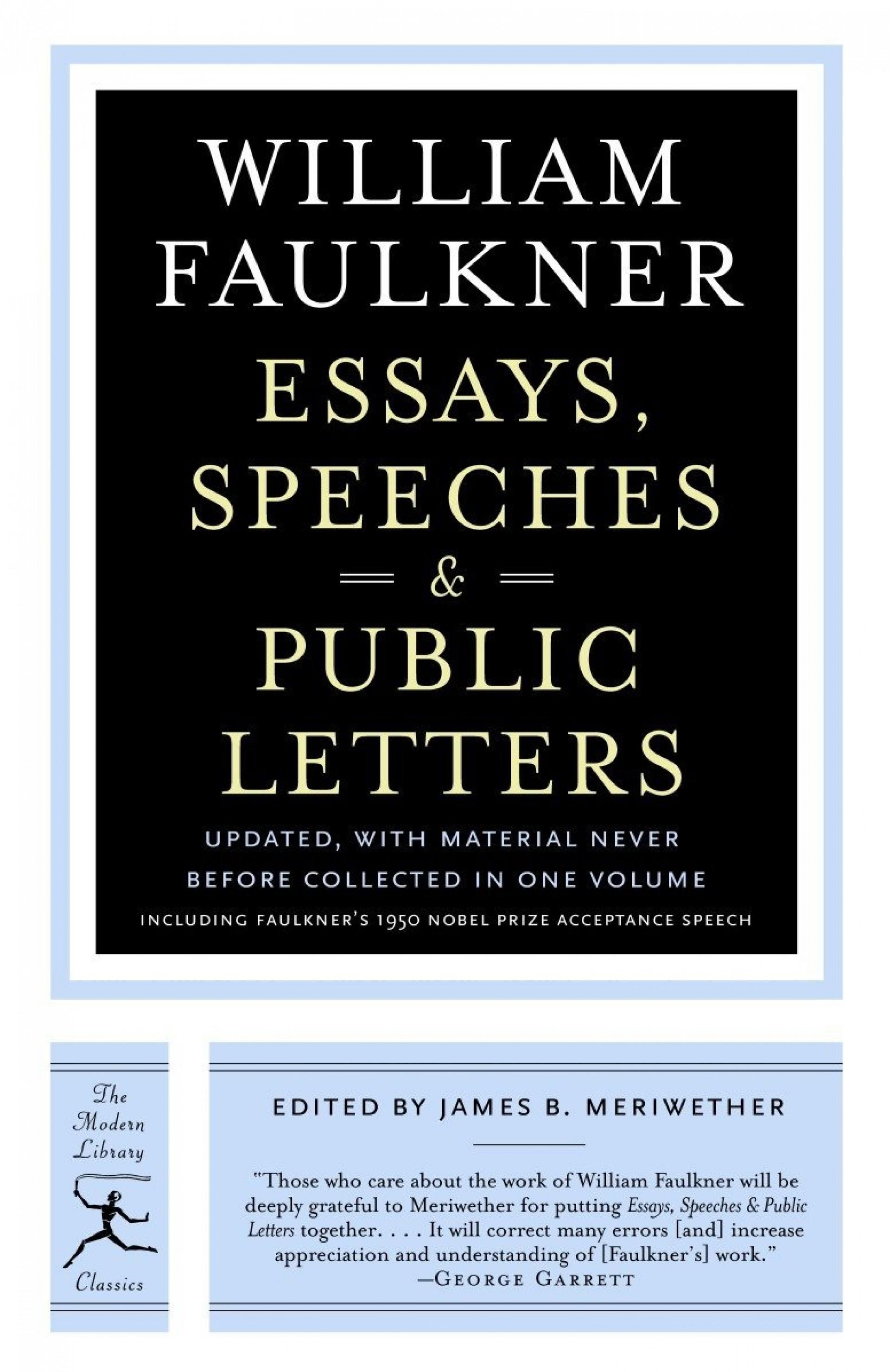 002 William Faulkner Essays Essay Example Stunning Topics 1920