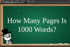 002 Word Essay Is How Many Pages Example Dreaded 1000 A Handwritten 320