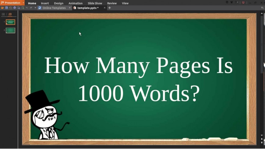 002 Word Essay Is How Many Pages Example Dreaded 1000 A Handwritten Single Spaced 868