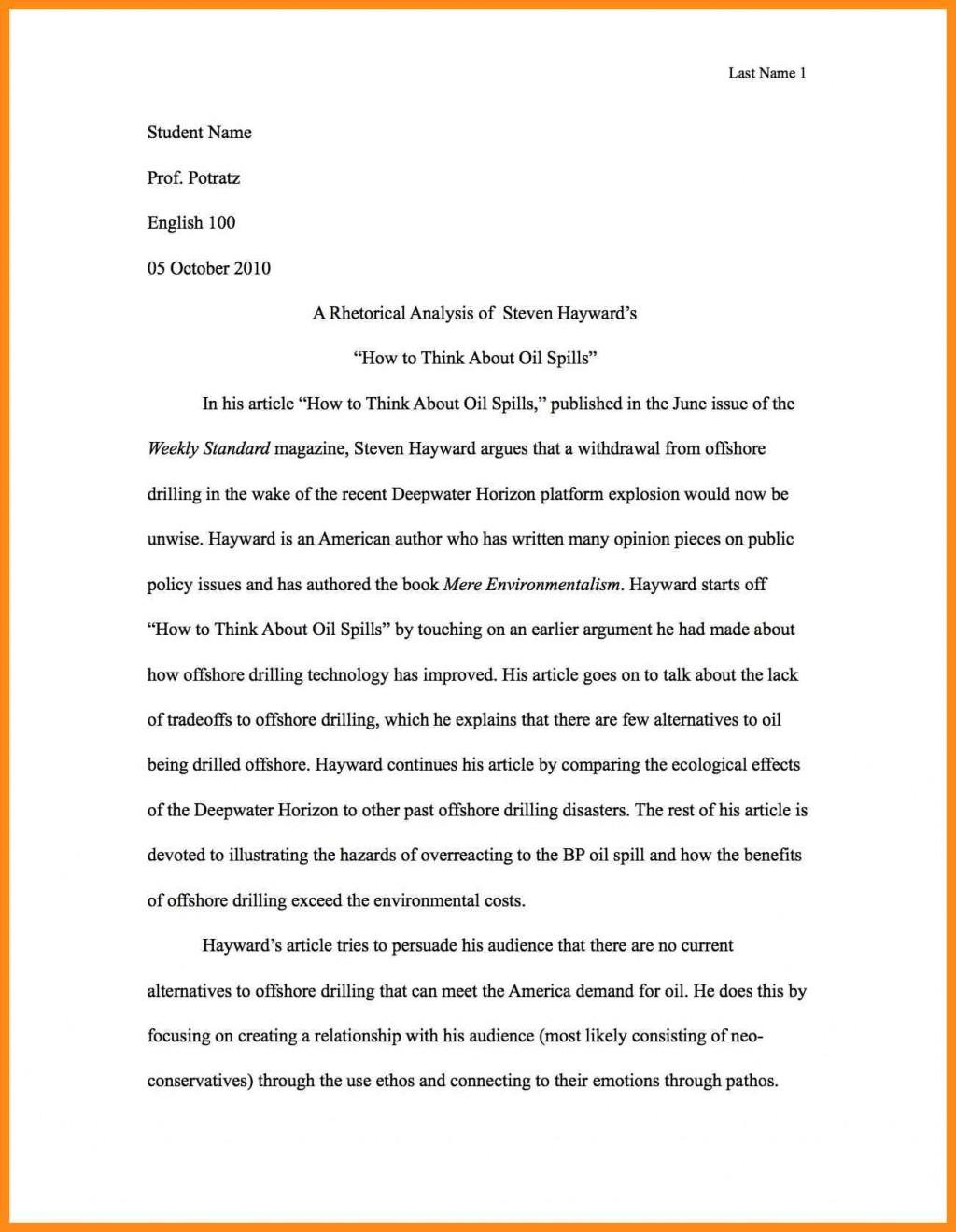 002 Write Best Rhetorical Analysis Essay Example Of Using Ethos Pathos And Logos Impressive A Commercial