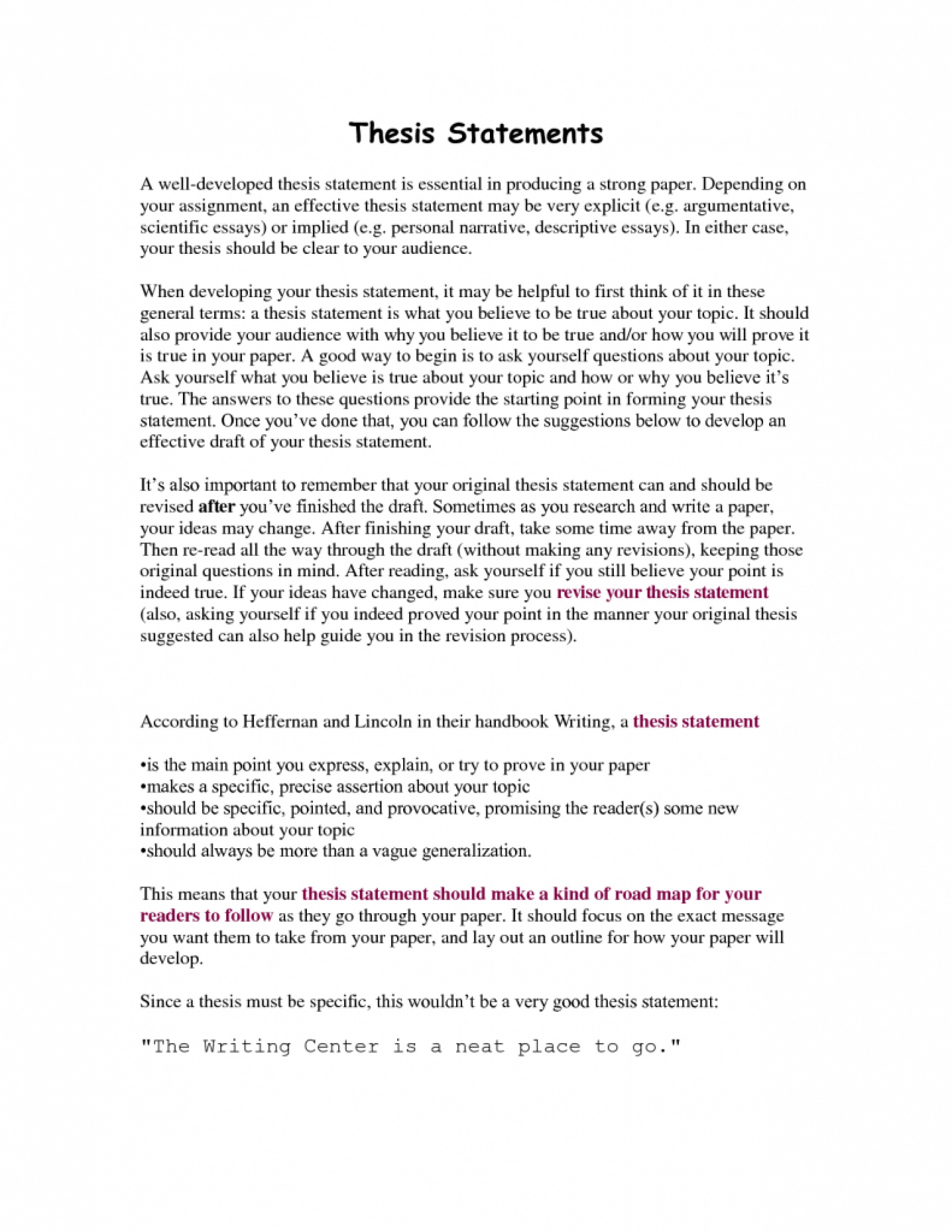 002 Writing Effective Thesis Statements For Essays On Friendship Statement Argumentative Essay Social Media Example An In Frightening Must I Present Both Sides Of The Issue Brainly 1920