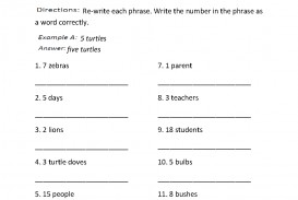 002 Writing Numbers Worksheet How To Write In An Essay Frightening Do You Correct Way