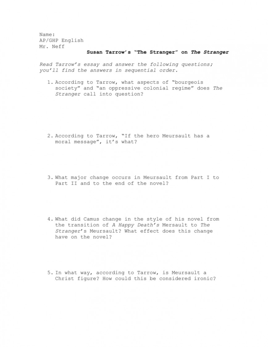 003 008589820 1 Essay Example The Unbelievable Stranger Examples Titles Prompts