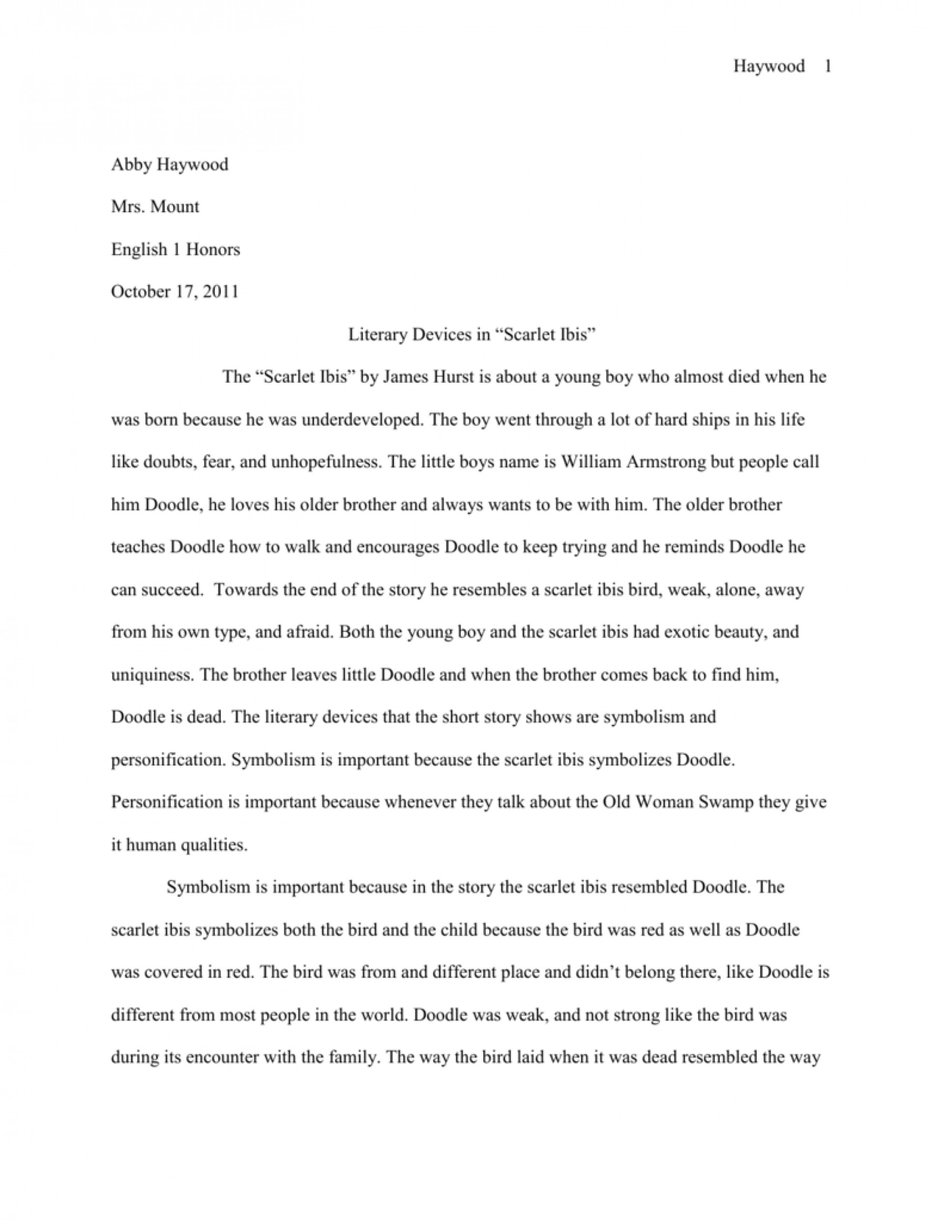 003 009067892 1 The Scarlet Ibis Essay Best Thesis Questions Discussion 1920