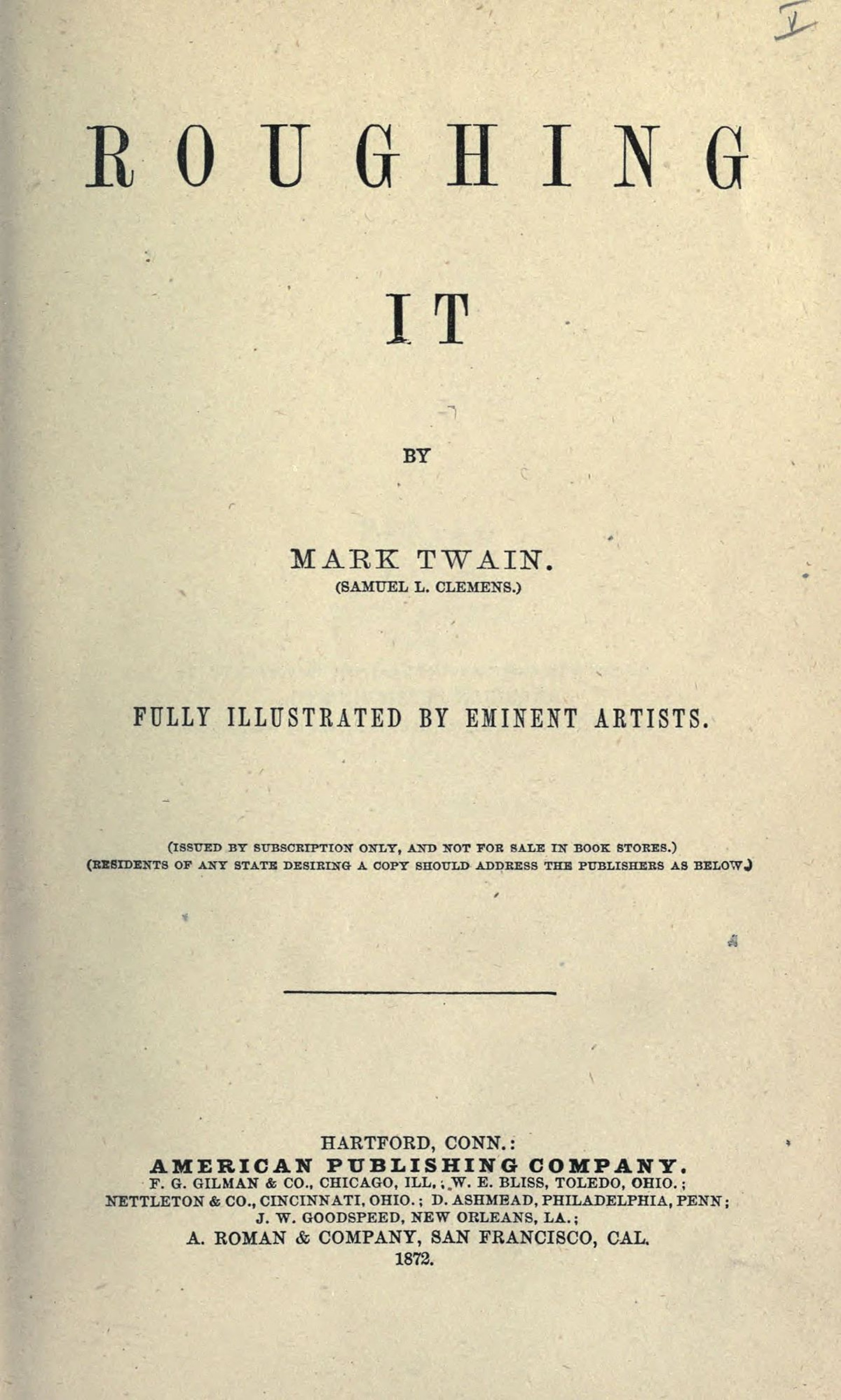 003 1200px Roughing It2c P  001 Essay Example Mark Twain Surprising Essays Pdf On Writing Nonfiction1920