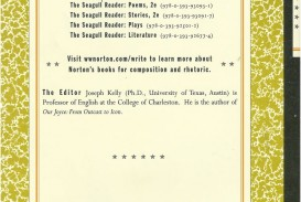 003 81kdkc0bdcl The Seagull Reader Essays 2nd Edition Pdf Essay Outstanding Free