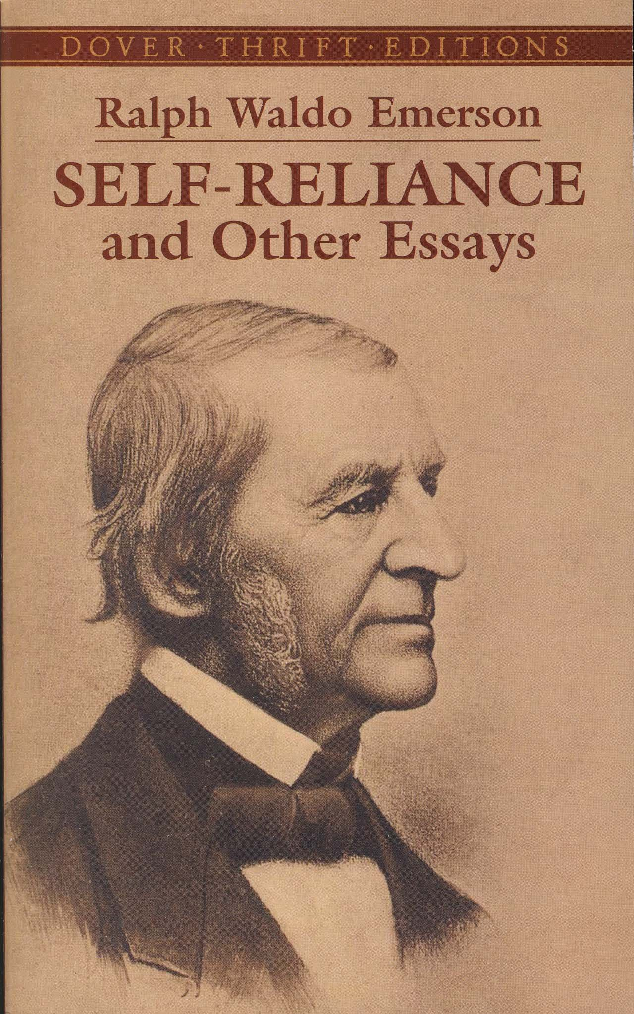 003 91btiwopxal Essay Example Emerson Dreaded Essays Self Reliance And Other Second Series Nature Full