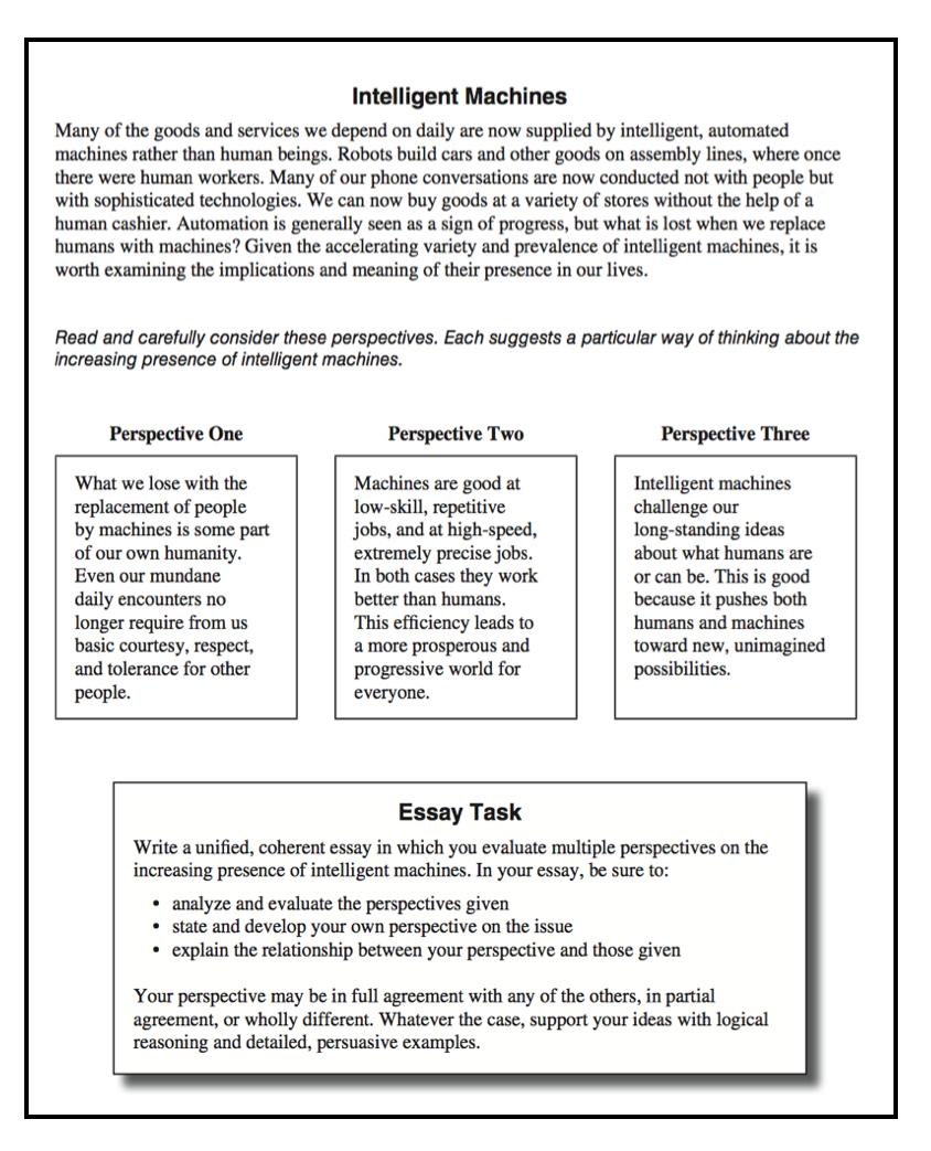 003 Act Essay Tips Example Screen Shot At Incredible Prepscholar Full