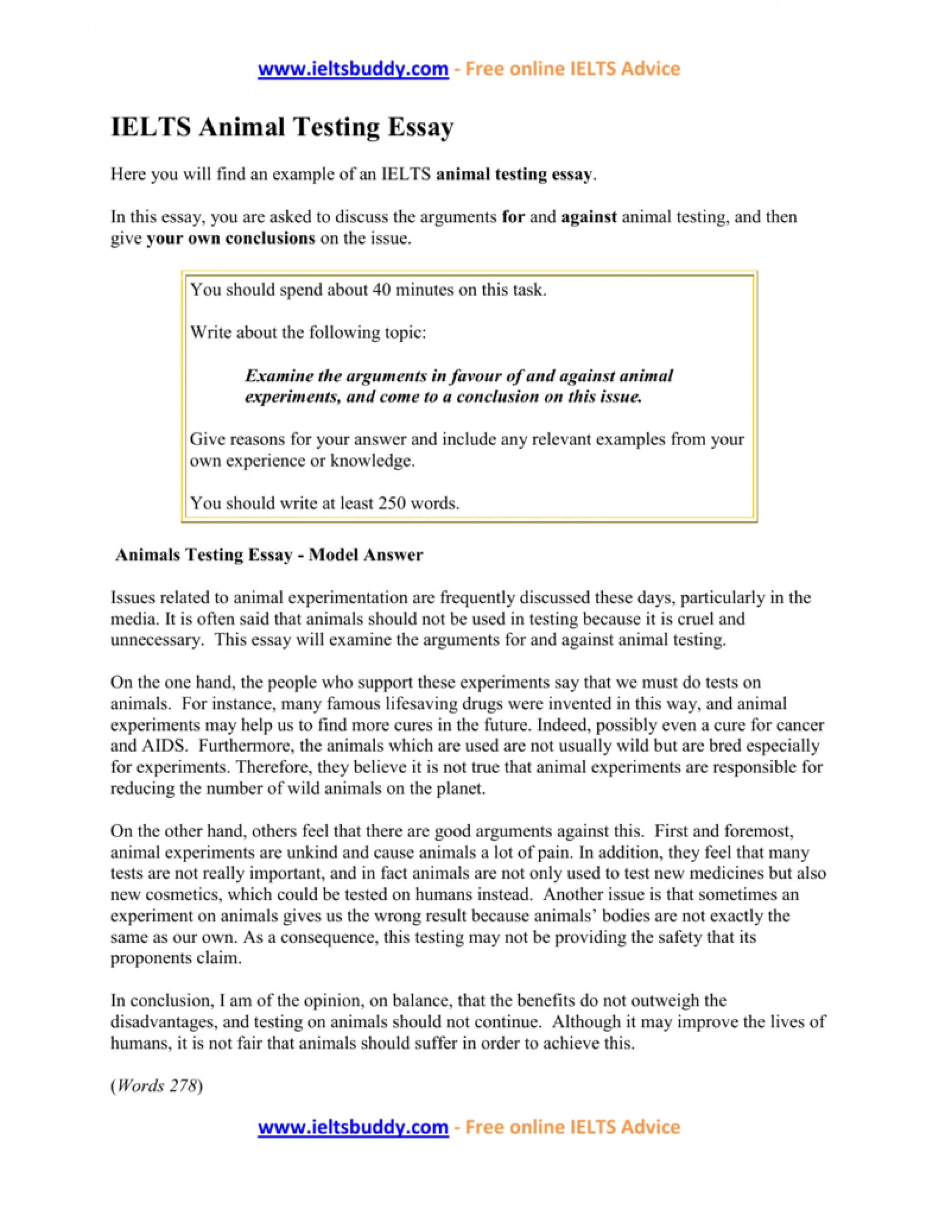003 Against Animal Testing Essay Example 008917896 1 Imposing Introduction Persuasive Titles 1920