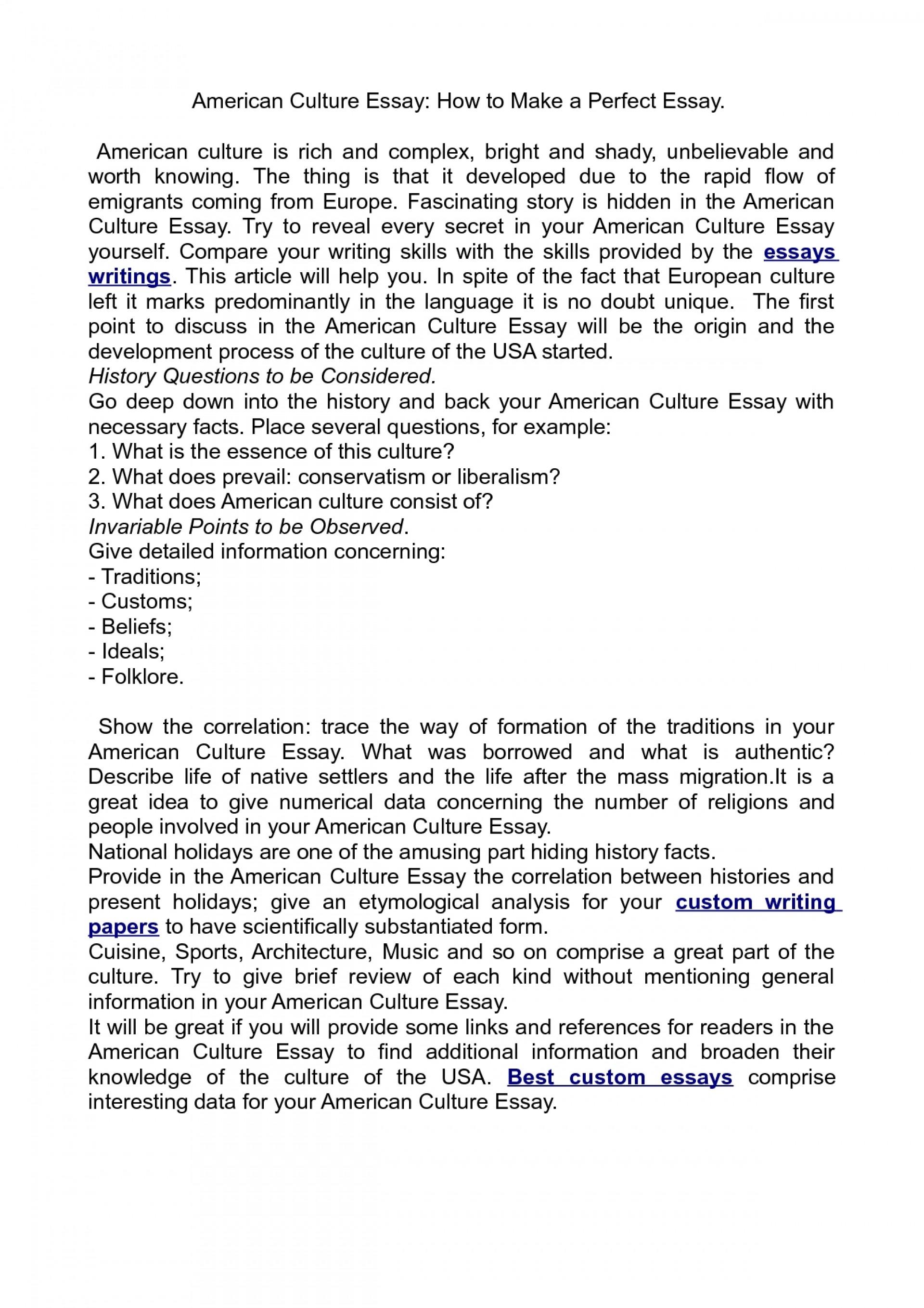 003 American Culture Essay Striking Topics Titles Format 1920