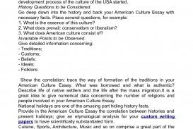 003 American Culture Essay Striking Topics Titles Format