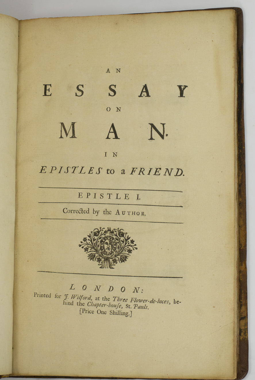 003 An Essay On Man 65395 3 Fantastic Epistle 2 Meaning Summary Sparknotes Part 1 Full