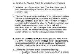 003 Application Essay National Junior Honor Society Conclusion Of To Example Unique Njhs 320