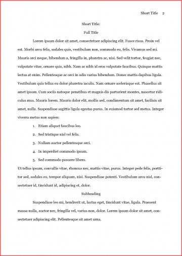 003 Asa Format Example Remarkable Essay Reference Generator Heading Citation 360